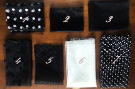 Black Polka Dot Tulle Skirt Black Long Tulle Skirts Outfit Black Maxi Skirt WT28 image 10