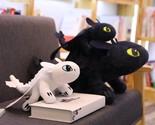 60cm how to train your dragon 3 plush toy toothless light fury night fury stuffed thumb155 crop