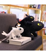 22 60cm How To Train Your Dragon 3 Plush Toy Toothless Light Fury/Night ... - $20.30