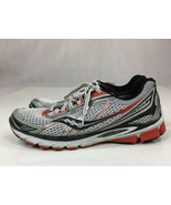 Saucony Ride 5 20156-1 Red/Silver/White/Black Running Shoes Men's US Siz... - $30.56