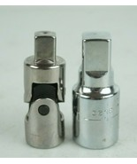"""Craftsman 3/8"""" Drive Swivel Adapter & 1/2 to 3/4 Drive Adapter - $18.67"""