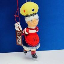 Hersheys Christmas ornament Kurt Adler collector series elf dwarf ice sk... - $12.55