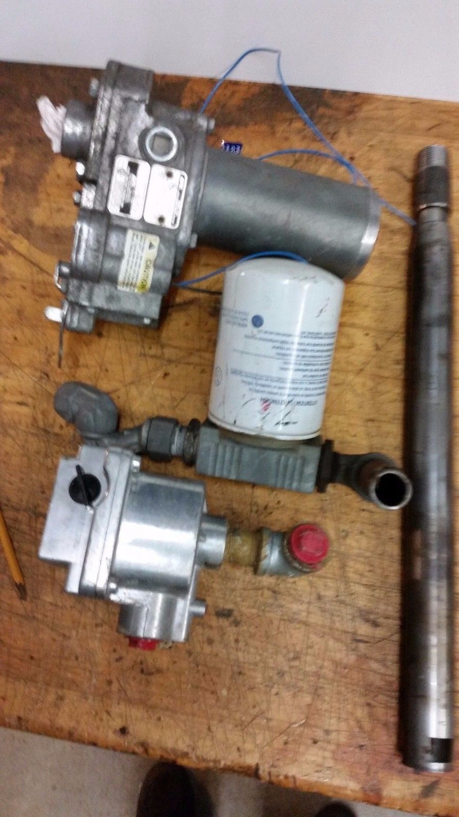GPI MODEL 150S 12 VOLT FUEL TRANSFER PUMP FILTER & PBL G15 FLOW METER TOTALIZER