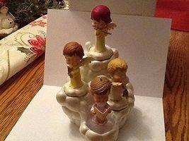 Heavenly Harmony Mary's Angels 2012 Hallmark Christmas Table Decoration - $49.50