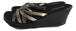 NEW WOMENS SZ 11 SKECHERS STRAPPY SANDALS SHOES - $34.95