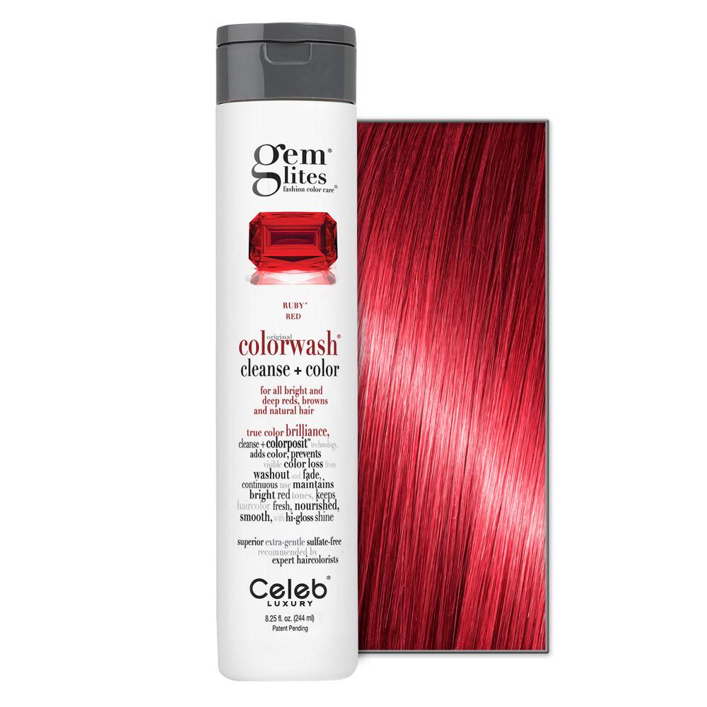 Celeb Luxury Gem Lites Ruby Colorwash    8.25oz