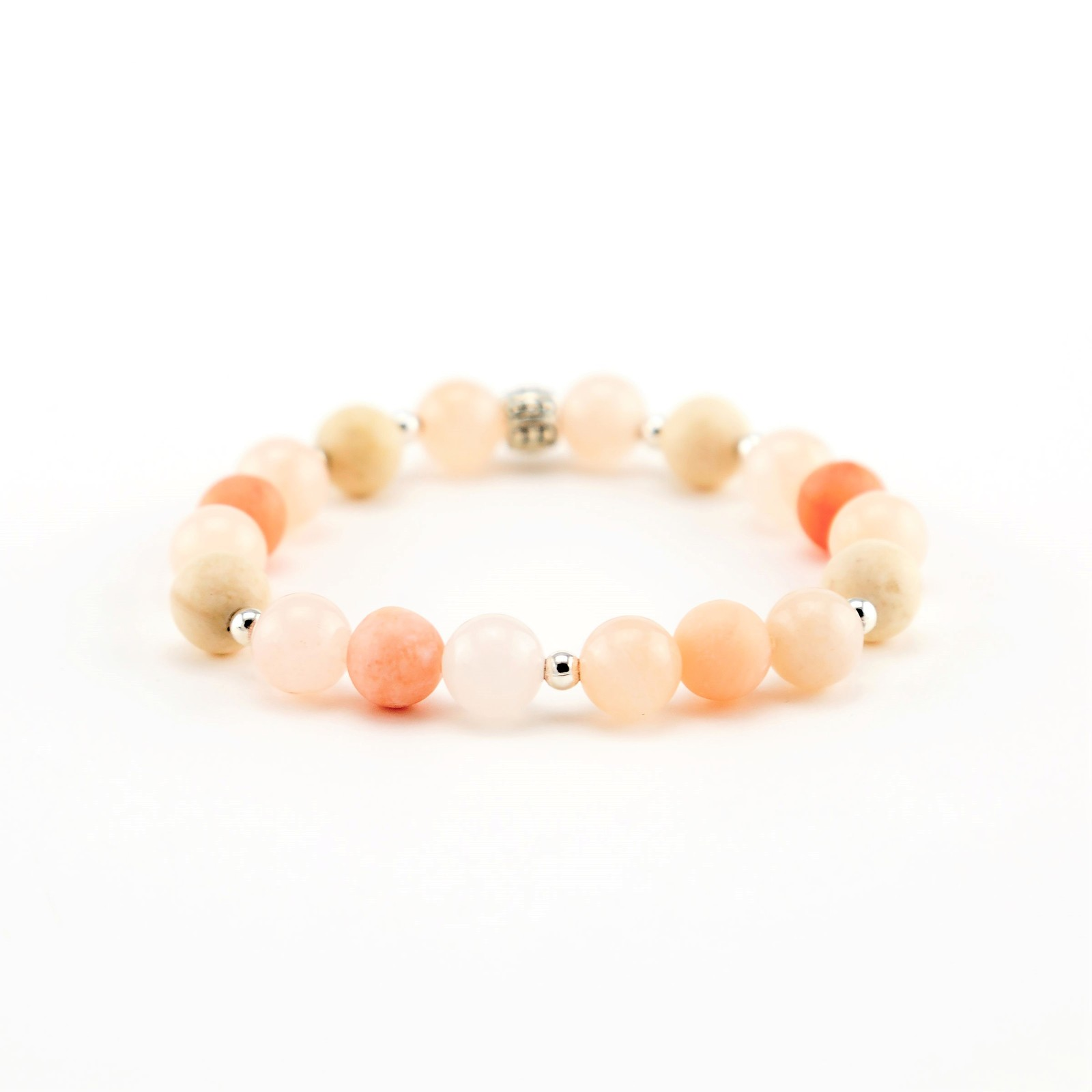 Pink Aventurine Diffuser Bracelet, Blush Jewelry, Essential Oil Jewelry