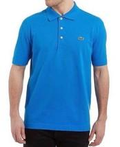 New Lacoste Sport Men's Classic Athletic Cotton Polo T-Shirt Nattier Blue L1230