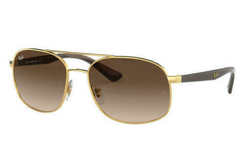 9ac7fdfe5b Ray-Ban RB3593 001/13 58MM Gold Brown / Brown Gradient 58mm Sunglasses -  $89.09