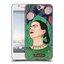 Official Frida Kahlo Tropical Portrait 3 Soft Gel Case Compatible for HT... - $27.47