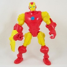 "Iron Man Articulated Action Figure 6"" Chunky Toy Marvel Avengers Hasbro ... - $9.99"