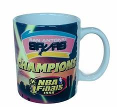 NBA Basketball San Antonio Spurs Mug Cup Vtg 1999 Finals David Robinson ... - $28.98