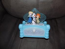 Disney Frozen Anna And Elsa Animated Musical Jewelry Box EUC FREE USA SH... - $24.99