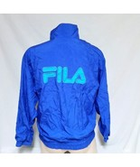 VTG Fila Windbreaker Jacket Colorblock Sailing Coat USA Neon 90s Sport S... - $39.99