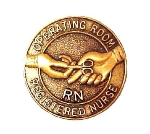 RN Operating Room Nurse Lapel Pin Graduation Professional Emblem 5052 New image 4