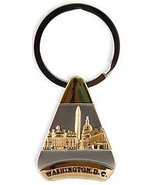 Washington D.C. Keychain - Gold Triangle, Washington DC Keychains, Washi... - $3.99