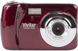 Vivitar VX018 Selfie Cam Digital Camera, Red - $151.89