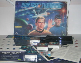 Star Trek: The Game 1992 Classic TV Trivia Open but NEW - $8.79