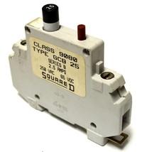 SQUARE D 9080GCB25 1-POLE CIRCUIT BREAKER 2.5 AMP 250 VAC - $19.99