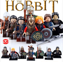 8pcs/set Lord of the Rings Hobbit Theoden Rohan Boromir Aragorn Minifigures Lego - $12.50