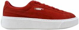 Puma Suede Platform Barbados Cherry/Cherry-White 362223 03 Women's Size 9 - $34.56