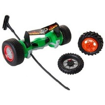 Fly Wheels Twin Turbo Launcher Green GX / Rippin Racer Battle Ripper Toy - $9.89