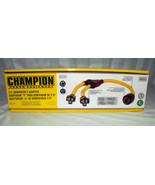 Champion 3ft Weather-Resistant Generator Cord 48035 (L14-30P to (2) 5-20R) - $42.50