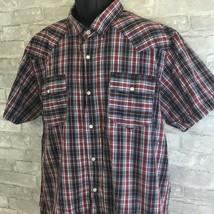 Levi's Men's XL Shirt Multicolor Striped Pearl Snap Modern Fit  - £22.59 GBP