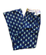 Psycho Bunny Men's Printed Knit Lounge Pants Stretch  Blue L - $28.50