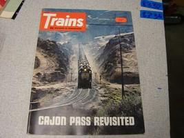 Trains  magazine September 1974 - $5.94
