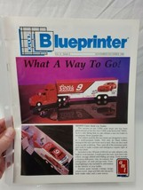 Ertl Blueprinter Newsletter 1990 colors racing semi mobil 1 Ford AMT (A15) - $11.88
