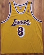 Authentic 1998 Nike Los Angeles Lakers Kobe Bryant Home Gold Jersey 52 2... - $399.99