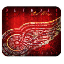 Mouse Pad The Detroit Red Wings Logo Professional Ice Hockey Team Michigan - $114,51 MXN