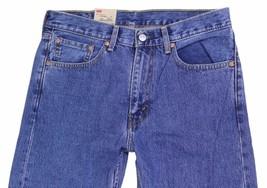 NEW LEVI'S STRAUSS 505 MEN'S ORIGINAL STRAIGHT LEG STONEWASH JEANS 505-4891 image 2