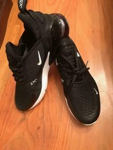 Nike Air Max 270 Mens Running Shoes Black White Bottom Sz 11 Size Eleven - $97.84