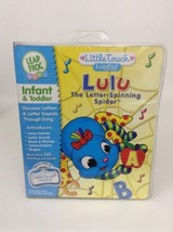 IN-BOX Leap Frog Baby Book & Cartridge Lulu The Letter-Spinning Spider - $9.85