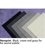 Newsprint WDW WOOL BUNDLE - SHOW SPECIAL ONLY 8x8 squares Weeks Dye Works - $30.00