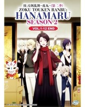 Zoku Touken Ranbu: Hanamaru Season 2 (Vol.1-12 End) English Dub Ship from USA