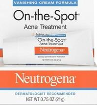 2 X Neutrogena On-the-Spot Acne Treatment  0.75oz  Exp 01/22 - $14.99