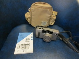 Vintage Canon Sure Shot Z135 Caption 35mm Film Camera Case & Manual - $25.99