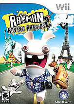 Rayman Raving Rabbids 2 (Nintendo Wii, 2007) Case & Manual Included - $9.89