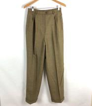 Ralph lauren Women Wool Cashmere Blend Dress Pants Pleated Front Lined S... - $27.72