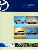 Original 2004 Toyota Dealer Brochure  SUV Truck Car 50 Pages - $8.54