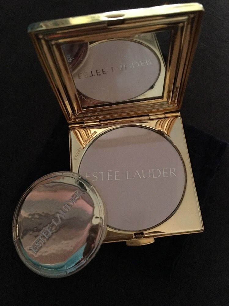 Estee Lauder PURSE STRINGS Powder Compact - NEW with Box Pouch Powder Puff -RARE