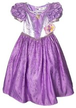 Disney Store Tangled Princess Rapunzel Costume Dress Purple Size 5/6 Del... - $1.394,18 MXN