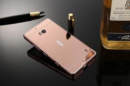 Lumia 930 Case Plating Mirror Aluminum Metal Bumper + Hard PC Back Cover For Mic image 3