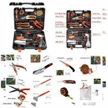PATHONOR Garden Tool Set, 12 Piece Heavy Duty Tools Set Kit with Hard...  - $48.38