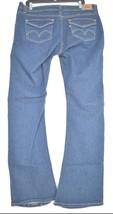 Levi 542 jeans SZ 16 x 33 M bootcut mid rise dark wash stretch W37 L33 tall long image 2