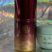 Tatcha 10mL Violet C Brightening Serum & Water Cream 10mL image 2
