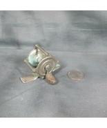 Miniature Antique Hendryx 25 Fishing Reel, Raised Pillars - $22.43